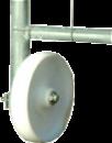 Hjul för dörr till stängsel QR