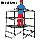 Stegställning B1,3 - 2,0 - H 5,0 meter