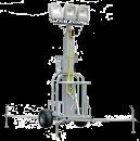 Belysningsmast 2,7 - 8,2 meter, Led-lampor