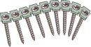 Gipsskruv, bandad 3,5x25mm. Plåtregel