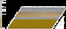 Spik 34 grader, 75mm,Varmgalv