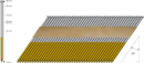 Spik 34 grader, 90mm,Varmgalv