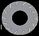 Diamantskiva 250 mm för Bewag slip