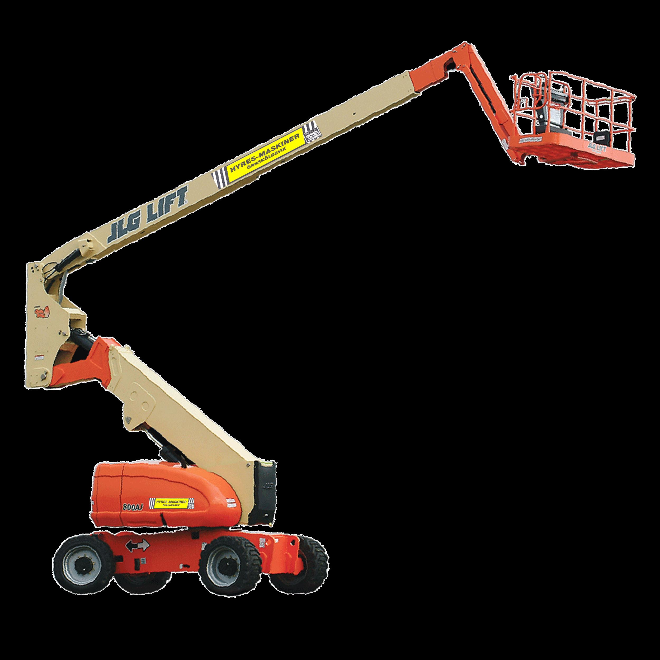 LEDBOMSLIFT 26,46 M JLG 800AJ