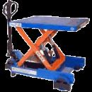 Lyftbord, saxtyp med hjul