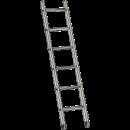 Stege, enkel 2,5 meter