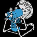 Rensmaskin för avloppsrör