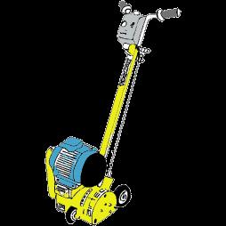 Ytfräs för golvspackel, Airtec RS165