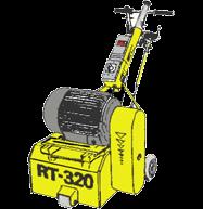 Ytfräs för golv, Airtec RT320
