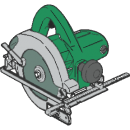 Handcirkelsåg, Hitachi PC8U