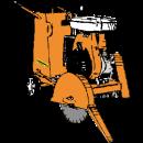 Asfalt- och betongsåg, Mikasa MCD2