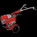 Jordfräs växellåda/back, Honda 510