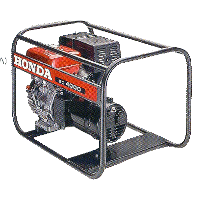 Elverk, Honda EC4000, 3600 W