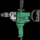 Blandarmaskin Hitachi D13 för visp