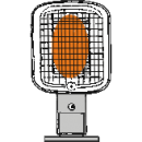 Infravärmare, gasoldriven -3300 W