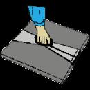 Plattlyft för betongplattor 300-500 mm