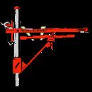 Glespanelsats för uppsättning av takläkt