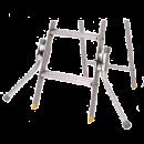 Stödben för Wibe ASP trappstegar