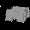 Betongvikt, 40 kg, Tremix
