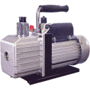 Vacuumpump för montage av luftvärmepump